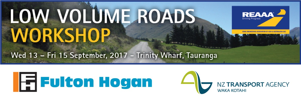Low Volume Roads Workshop 2017
