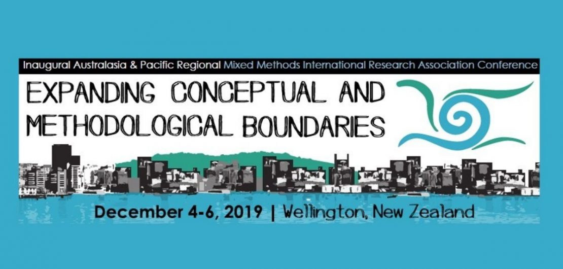 Australasia & Pacific Regional Mixed Methods International Research Association (MMIRA) Conference, 4-6 December, 2019, Wellington