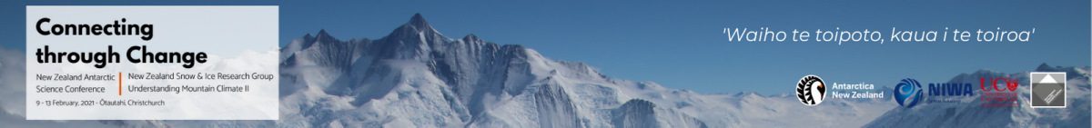 Antarctic Science Conference and Snow and Ice Research Group - Understanding Mountain Climate II